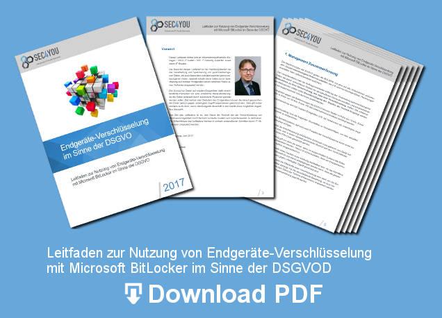 Endgeräte-Verschlüsselung im Sinne der DSGVO - Download PDF
