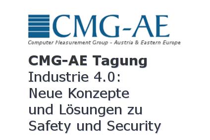 Industrie 4.0 - CMG-AE Industrie 4.0: Neue Konzepte und Lösungen zu Safety und Security