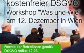 Beitragsbild Kostenfreier Was und Wie Workshop der SEC4YOU am 12 Dezember 2017