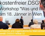 Beitragsbild Kostenfreier Was und Wie Workshop der SEC4YOU am 18 Jänner 2018