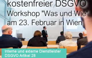Beitragsbild Kostenfreier Was und Wie Workshop der SEC4YOU am 23 Jaenner 2018