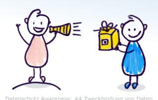 Mitarbeiter Datenschutz Awareness 4 - Zweckbindung von Daten