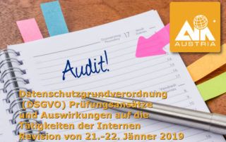 DSGVO Audit - Interne Revision
