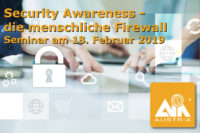 Security Awareness Seminar - die menschliche Firewall