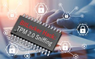 Angriff BitLocker - TPM-Sniffing - BitLocker Hack