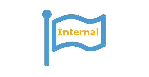Kennzeichnung Internal