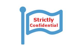 Kennzeichnung Strictly Confidential