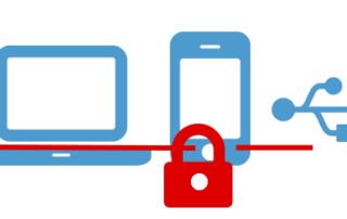 Mobile Endgeräte Wechseldatenträger verschlüsselt