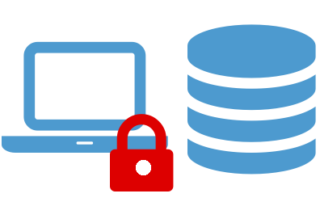 Speicherung Notebook Verschlüsselt - Server Unverschlüsselt