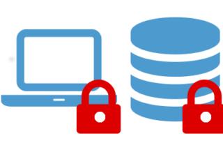 Speicherung Notebook verschlüsselt Server verschlüsselt