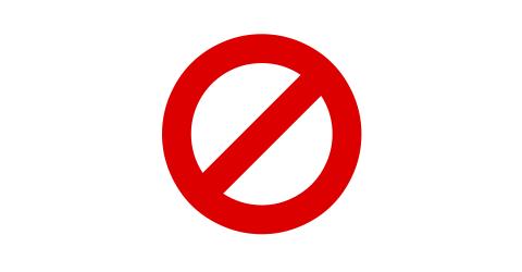 Verboten