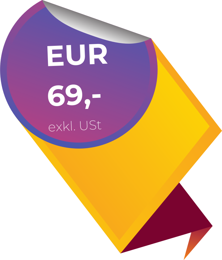 69 Euro exkl. USt.